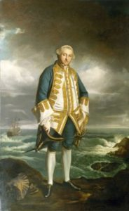 Painting of Sir Edward Boscawen