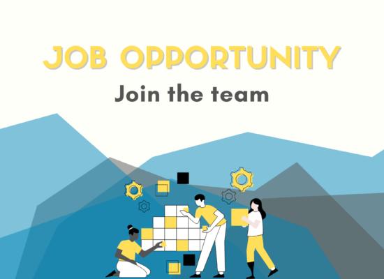 A job opportunity flyer
